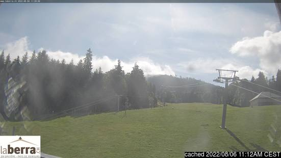 Live Snow webcam for La Berra - La Roche
