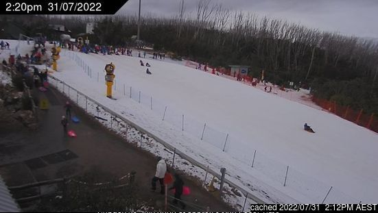 Lake Mountain webcam at 2pm yesterday