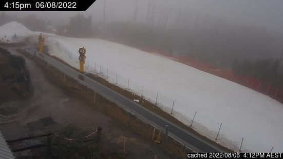 Live Snow webcam for Lake Mountain