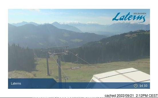 Laternser Tal webcam all'ora di pranzo di oggi