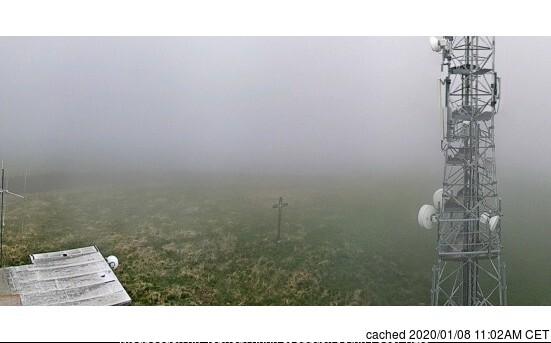 Le Corbier (Les Sybelles) webcam at 2pm yesterday