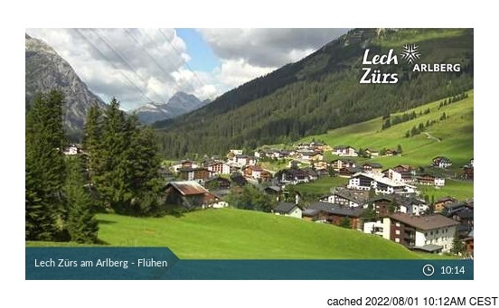 Live webcam per Lech se disponibile