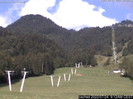 Live Snow webcam for Lenggries