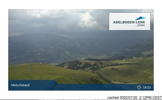 dün saat 14:00'te Lenk'deki webcam