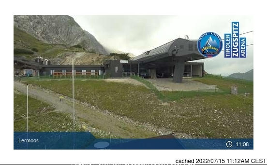 Lermoos webcam at lunchtime today