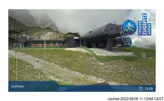 Live webcam per Lermoos se disponibile