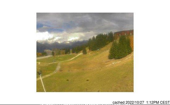 Les Arcs webcam all'ora di pranzo di oggi