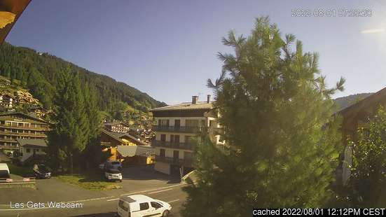 Live Snow webcam for Les Gets