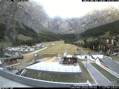 Live Snow webcam for Leukerbad