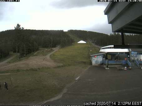 Webcam de Levi à 14h hier