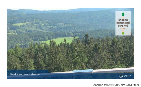 Live Snow webcam for Lipno - Kramolín