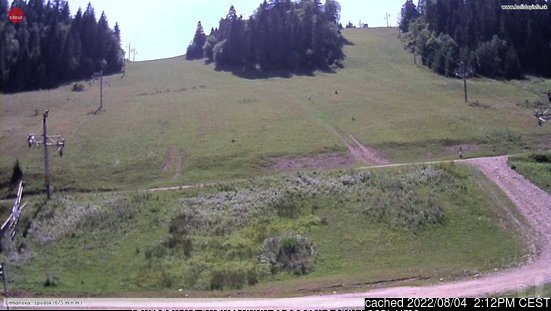 Litmanová webcam at lunchtime today