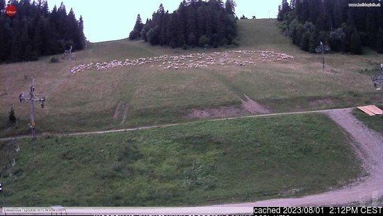 Litmanová webcam at 2pm yesterday