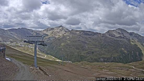 Livigno webcam at lunchtime today