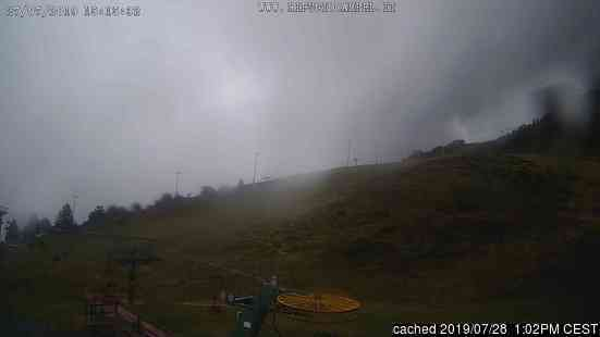 Lizzola Valbondione webcam at lunchtime today
