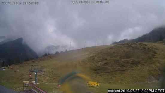 Lizzola Valbondione Webcam gestern um 14.00Uhr