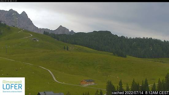 Live Snow webcam for Lofer