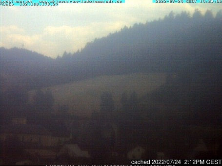 Ludwigsstadt/Skizentrum webcam at lunchtime today