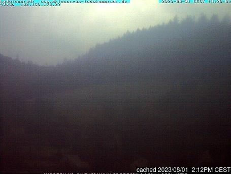 Ludwigsstadt/Skizentrum webcam at 2pm yesterday