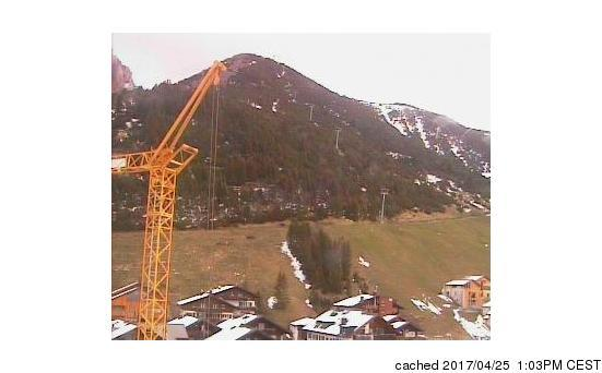 Malbun - Steg webcam at 2pm yesterday