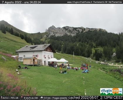 Malga-Ciapela/Marmolada webcam at lunchtime today