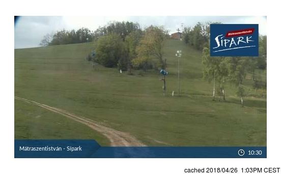 Sípark Mátraszentistván Webcam gestern um 14.00Uhr