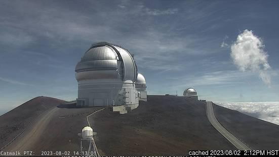 Κάμερα σε Mauna Kea στις 2μμ χθές