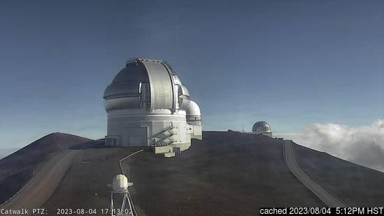 Živá webkamera pro středisko Mauna Kea