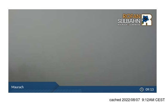 Live Snow webcam for Maurach am Achensee
