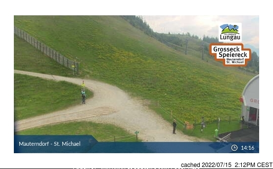 Mauterndorf webcam at lunchtime today