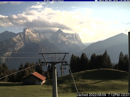 Live Snow webcam for Meiringen-Hasliberg
