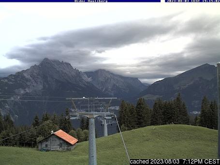 Webcam en vivo para Meiringen-Hasliberg