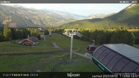 Moenaの雪を表すウェブカメラのライブ映像