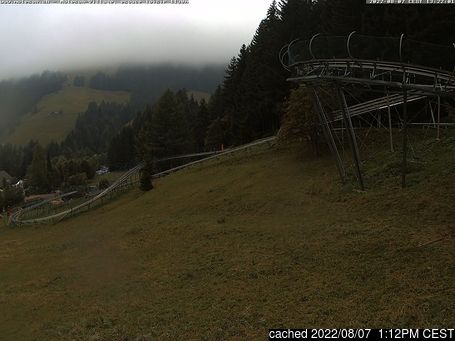 Live Snow webcam for Moléson s/Gruyères