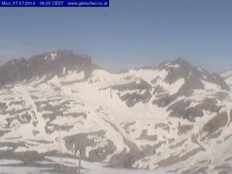 Mölltaler Gletscher Webcam gestern um 14.00Uhr