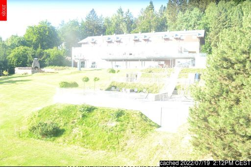 Monínec webcam at lunchtime today