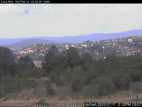 Mont Ventoux webcam at 2pm yesterday
