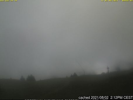 Morgins webcam at lunchtime today