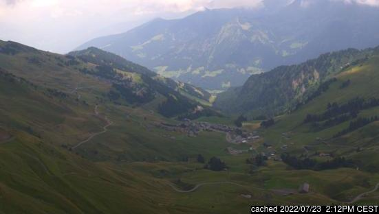 Live Snow webcam for Morzine