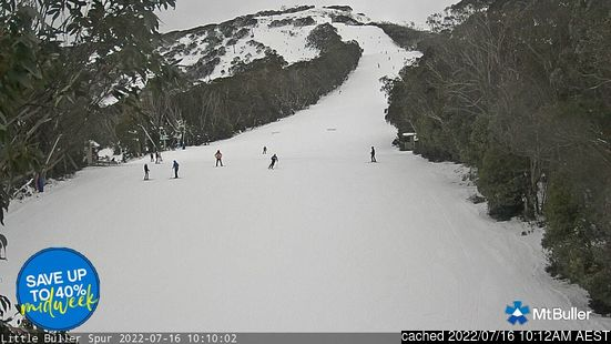 Live Snow webcam for Mount Buller