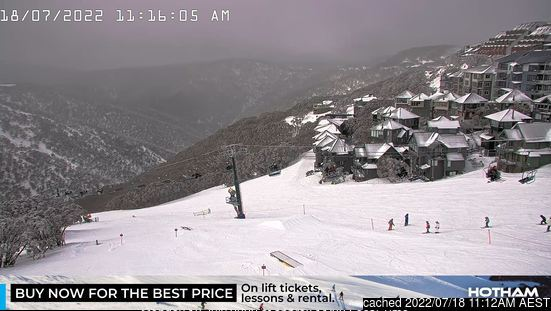 Webcam de Mount Hotham à midi aujourd'hui