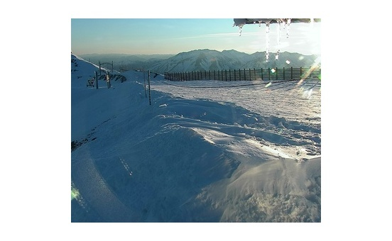 Mount Hutt webcam at 2pm yesterday