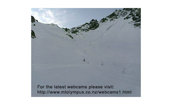Mount Olympus webcam at 2pm yesterday
