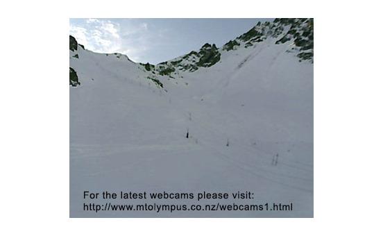 Mount Olympus webcam às 14h de ontem