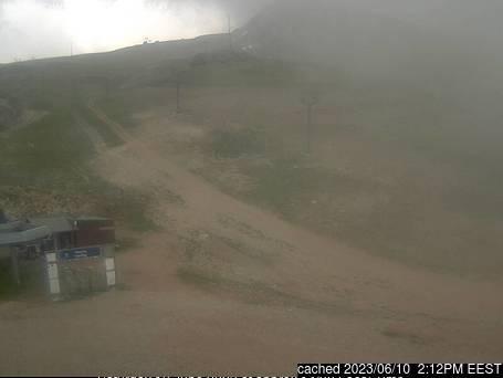 dün saat 14:00'te Mount Parnassos'deki webcam
