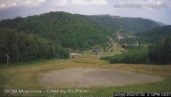 Mraznica - Hnilčík webcam at lunchtime today