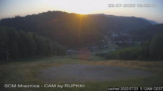 Live Snow webcam for Mraznica - Hnilčík