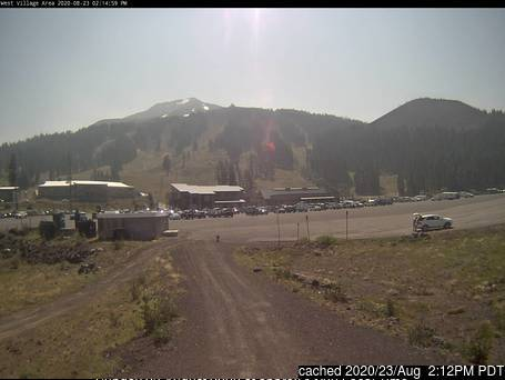 Mt Bachelor webcam alle 2 di ieri sera