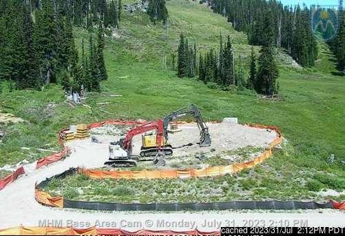 Mt Hood Meadows webcam all'ora di pranzo di oggi