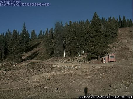 Mt Shasta webcam at lunchtime today